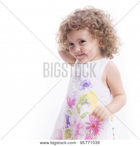 Sweet Female Child Portrait