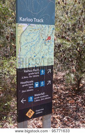 Royal Coast National Park Near Sydney..