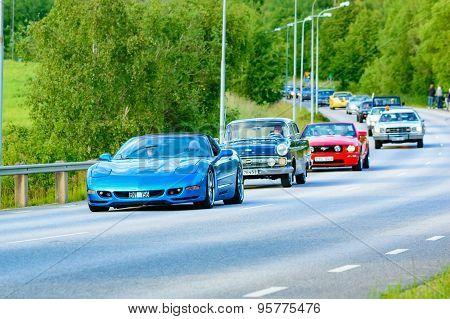 Chevrolet Corvette Blue 1999