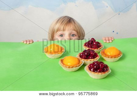 Little Sweet-tooth With Tarts