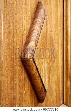 Spain Abstract Door   Door In The Light Brown