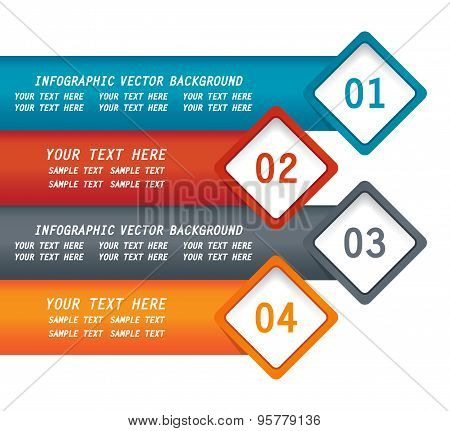 infographic vector modern background