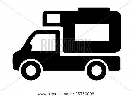 vehicles camper vans caravans icon