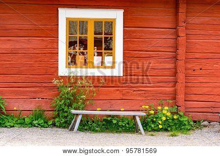 Bench Under Window