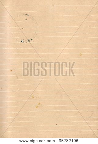 Dirty Lined Paper Background