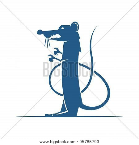 Heraldic Elements. Rat