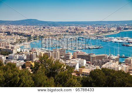 The Port And Historical Centre Of Palma