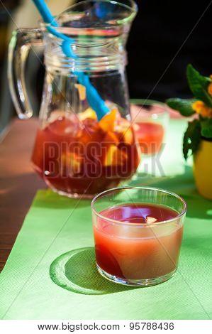 Homemade Red Sangria