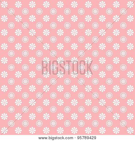 Vintage Flower Garden Pattern Background