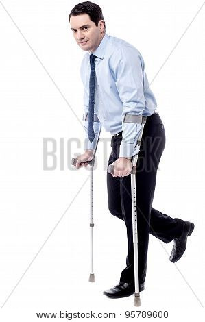 Crutches, Help Me To Walk.