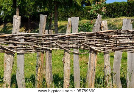 Village Wooden Fence