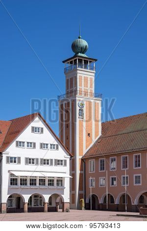 Town hall on the marketplace in Freudenstadt