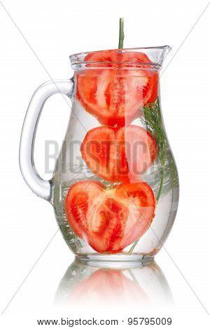 Tomato Dill Detox Water