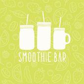 foto of mason  - Smoothie bar logo - JPG