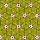 picture of primitive  - art vintage blurred floral pattern - JPG