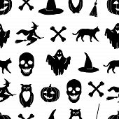 Постер, плакат: Halloween vector background