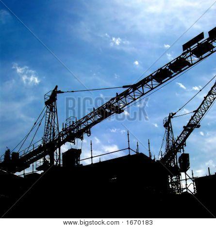 Crane Silhouette 02