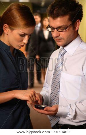 Geschäftspartner e-Mails