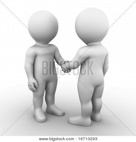 handshake - Bobby Series