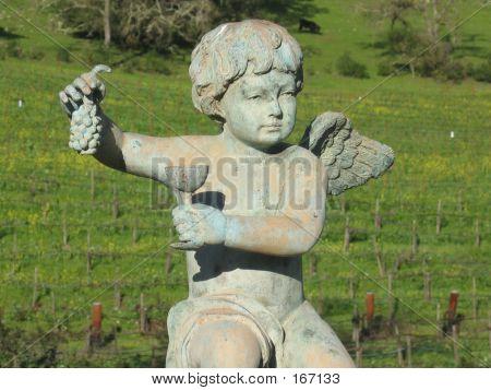 Cherub Statue