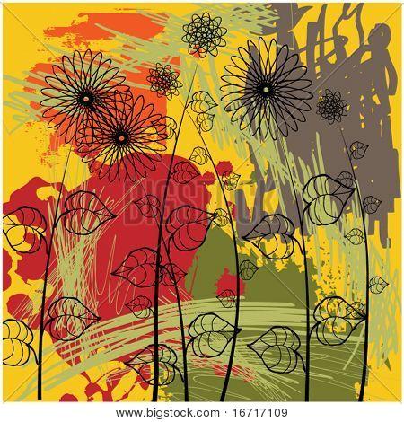 art vintage floral background. To see similar, please VISIT MY PORTFOLIO.