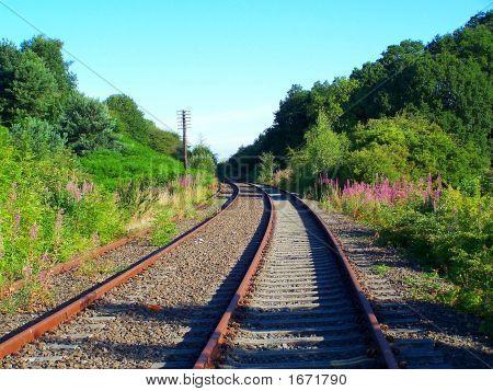 Trem abandonada