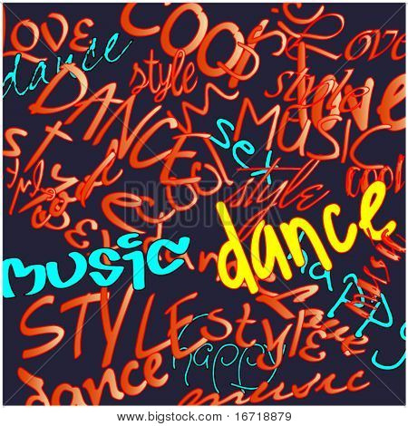 art graffiti vector background