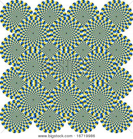 Optical Illusion Circles
