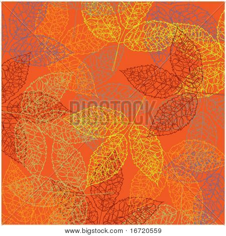 art autumn vintage background