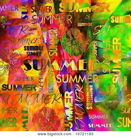 art vintage word pattern background