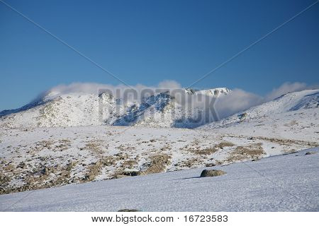 Clouds Over Gredos Mountains
