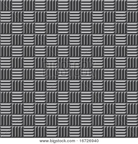 Metal de patrones sin fisuras.