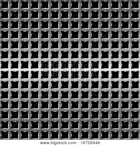 Metal net seamless pattern.
