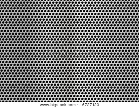 Metal net seamless texture background.