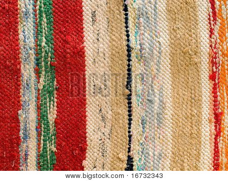 Vintage cloth closeup background.