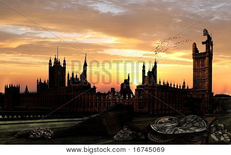 Apocalypse London: Big Ben
