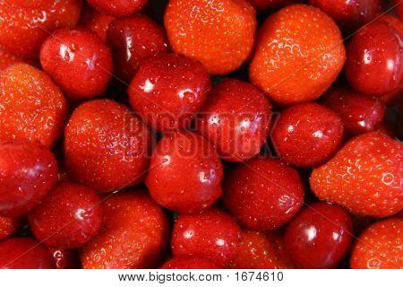 Cherries & Strawberries
