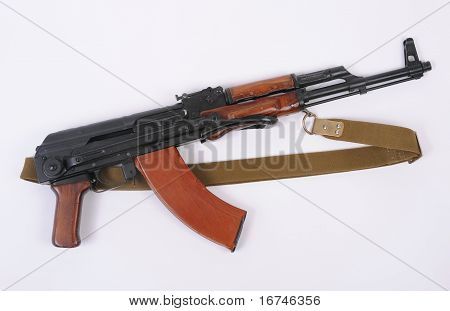 Soviet Akms (ak47) Assault Rifle With Folding Stock.
