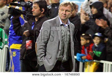 Ukraine National Soccer Team Manager Yuriy Kalytvintsev