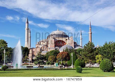 Hagia Sophia summer