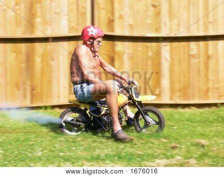 Grandpa On A Minibike  70324