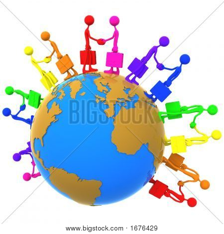 Full Spectrum Global Business Handshake