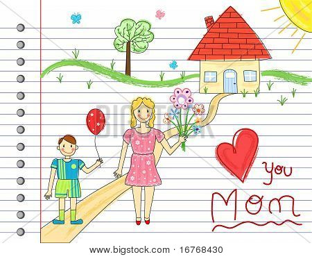 Mother Day Card
