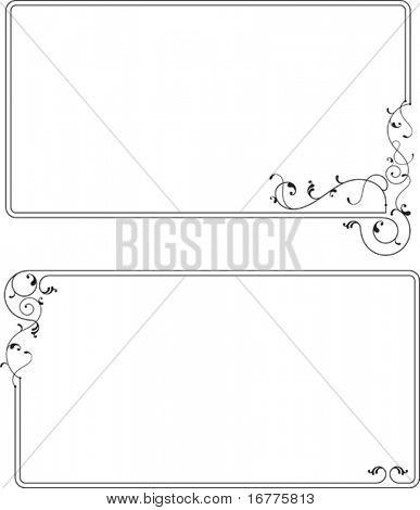 Rahmen Sie-Design (Design-Element Frame) Grenzen