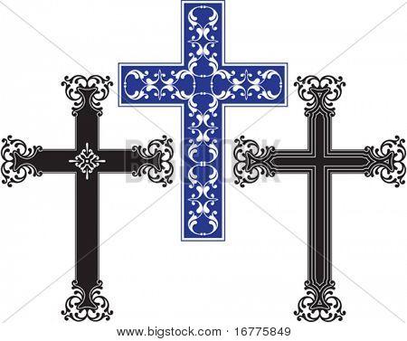 Vektor-christlichen Kreuzes