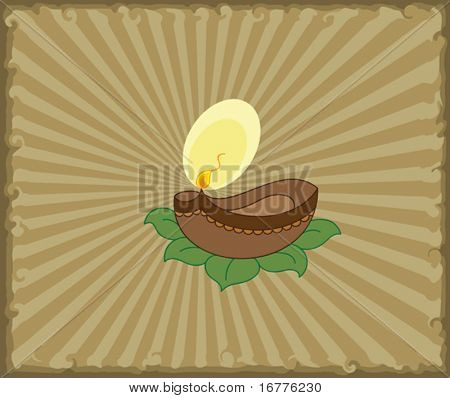 Diya, Deepak (oil Lamp) Ornamental