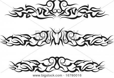 Tattoo Arm Band Set