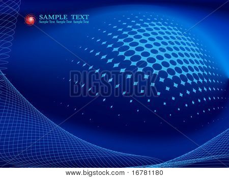 background composition, Web template