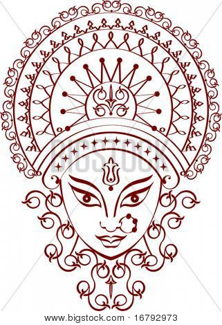 Durga Greeting