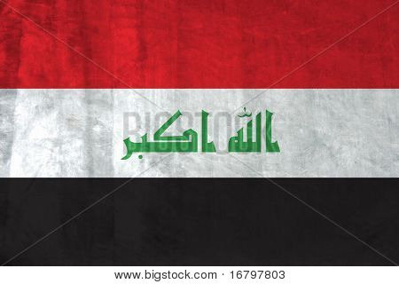 Grunge Flag of Iraq (new)